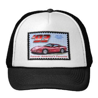 1993 40th Anniversary Corvette Hats