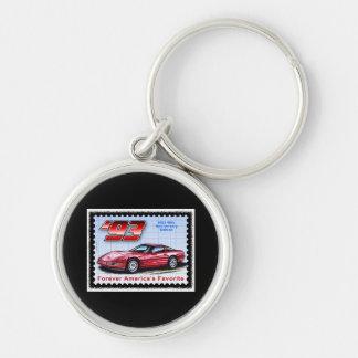 1993 40th Anniversary Corvette Key Ring