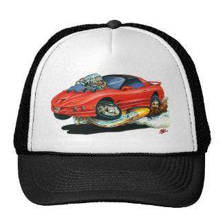 1993-97 Trans Am Red Car Mesh Hat