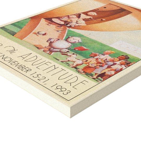 1993 Children's Book Week Canvas