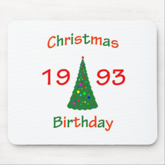 1993 Christmas Birthday Mouse Pads