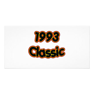 1993 Classic Personalized Photo Card