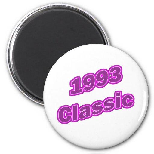 1993 Classic Purple Fridge Magnets