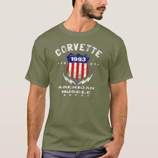 1993 Corvette American Muscle v3 T-Shirt