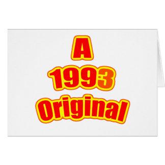 1993 Original Red Cards