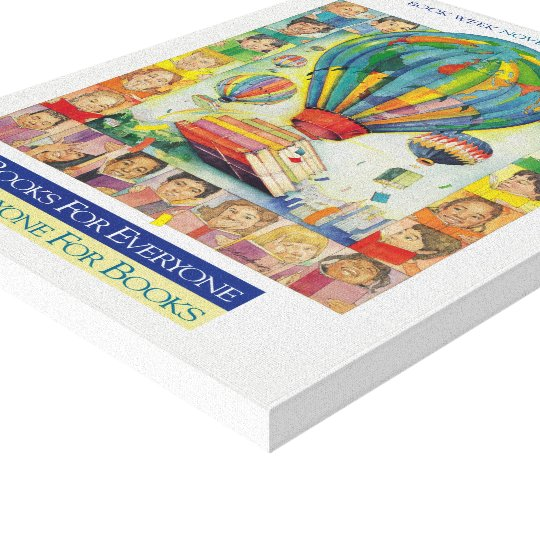 1994 Children's Book Week Canvas