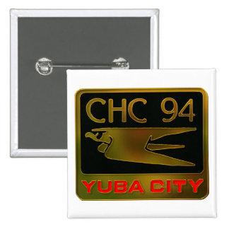 1994 Yuba City 15 Cm Square Badge