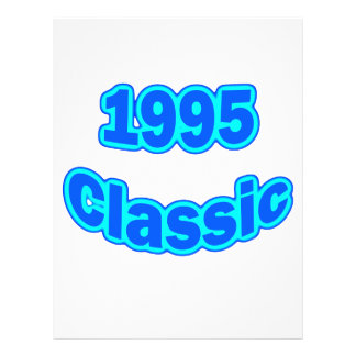 1995 Classic Blue 21.5 Cm X 28 Cm Flyer