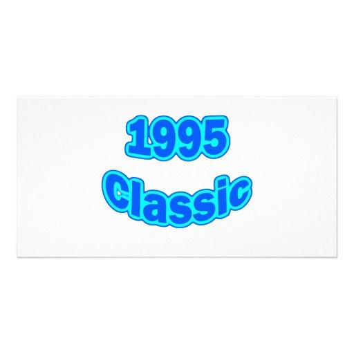 1995 Classic Blue Customized Photo Card