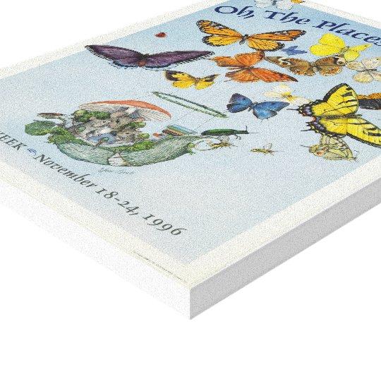 1996 Children's Book Week Canvas