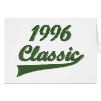 1996 Classic Card