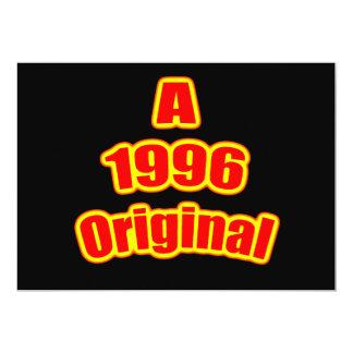 1996 Original Red Blk Custom Invites
