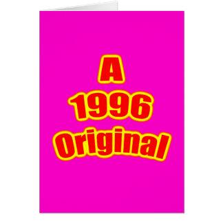 1996 Original Red Mag Card