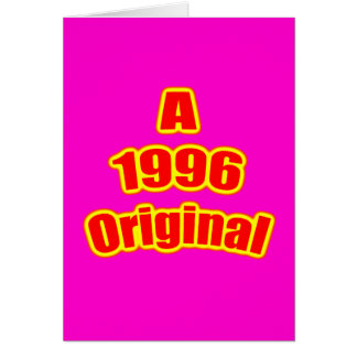 1996 Original Red Mag Cards