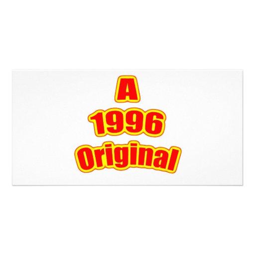 1996 Original Red Picture Card