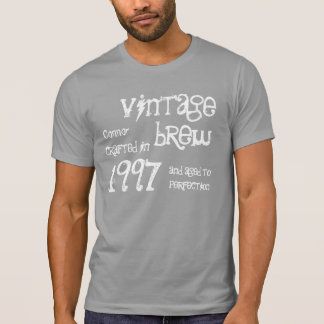1997 Birthday Year 18th Vintage Brew Gift T-Shirt