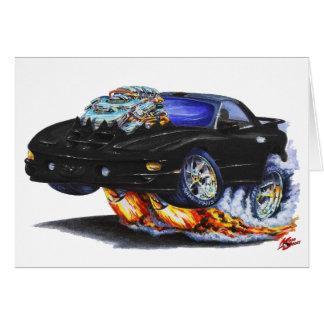 1998-02 Firebird Trans Am Black Car Cards
