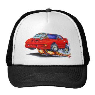 1998-02 Firebird Trans Am Red Car Hats