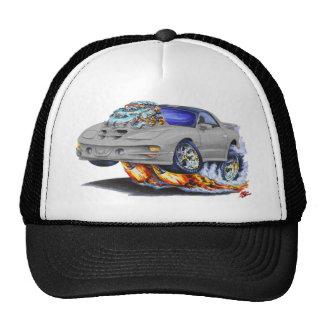 1998-02 Firebird Trans Am Silver Car Trucker Hats