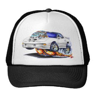 1998-02 Firebird Trans Am White Car Trucker Hat