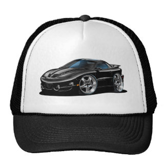 1998-02 Trans Am Black Car Mesh Hat