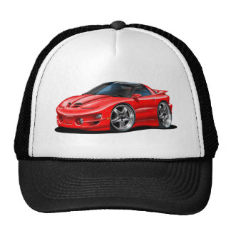 1998-02 Trans Am Red Car Trucker Hat