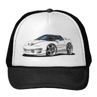 1998-02 Trans Am White Car Trucker Hat