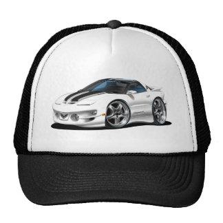 1998-02 Trans Am White Firehawk Trucker Hat