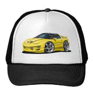 1998-02 Trans Am Yellow Car Trucker Hat