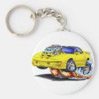 1998-02 Trans Am Yellow Car Key Ring