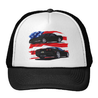 1998-04 Corvette Black Car Cap