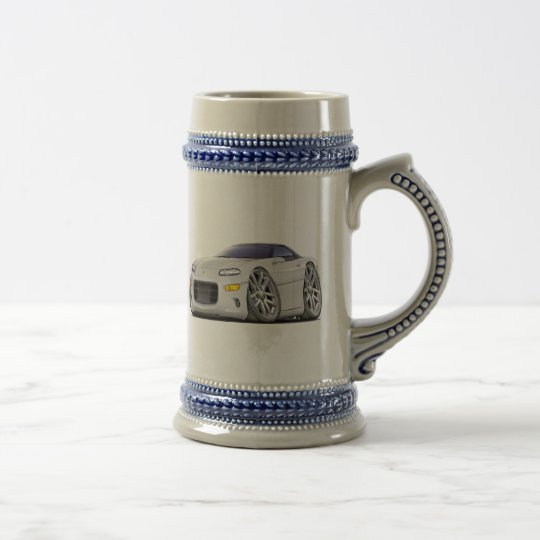 1998-2003 Camaro White Car Beer Stein