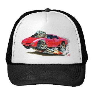 1998-2004 Corvette Red Car Cap