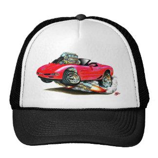 1998-2004 Corvette Red Convertible Cap