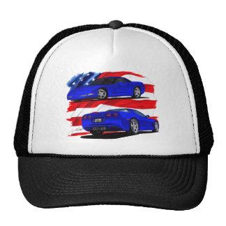 1999-04 Corvette Blue Car Hat