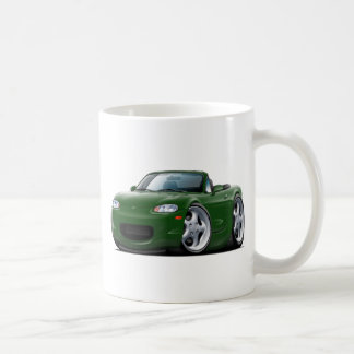 1999-05 Miata Green Car Coffee Mug