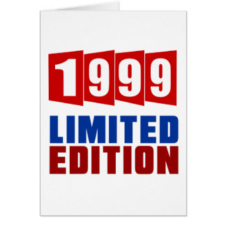 1999 Limited Edition Greeting Card