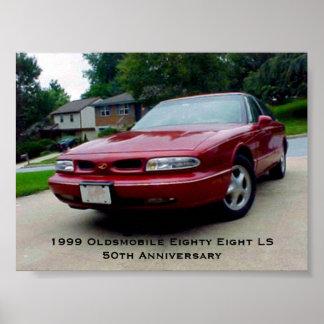 1999 Oldsmobile Eighty Eight LS Poster