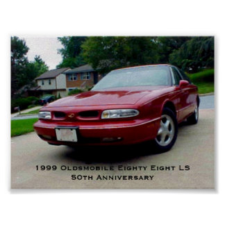 1999 Oldsmobile Eighty Eight LS Posters