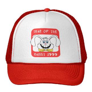 1999 Year of The Rabbit Gift Trucker Hats