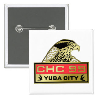 1999 Yuba City 15 Cm Square Badge