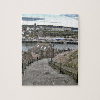 199 Steps Whitby Jigsaw Puzzle