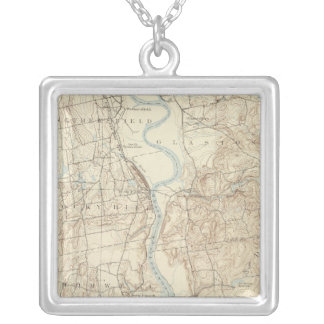 19 Middletown sheet Silver Plated Necklace