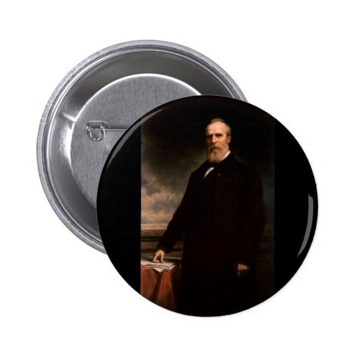 19 Rutherford B. Hayes 6 Cm Round Badge