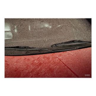 "19"" x 13"",  Photo Paper (Satin) ""Dusty Car"""