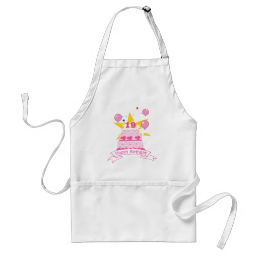 19 Year Old Birthday Cake Aprons