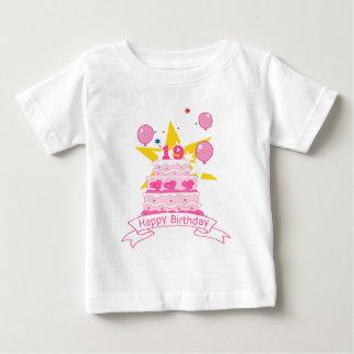 19 Year Old Birthday Cake Baby T-Shirt