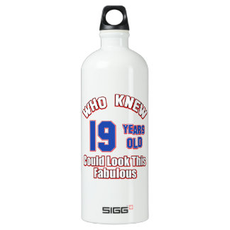 19 year old look fabulous SIGG traveller 1.0L water bottle