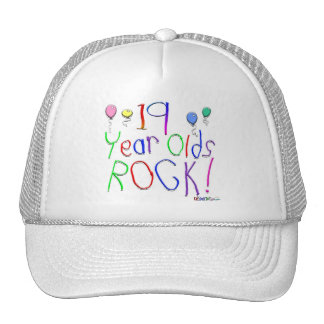 19 Year Olds Rock ! Cap