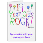 19 Year Olds Rock ! Card